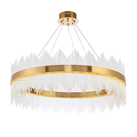 Custom Made Decorative Project Crystal LED Pendant Lighting