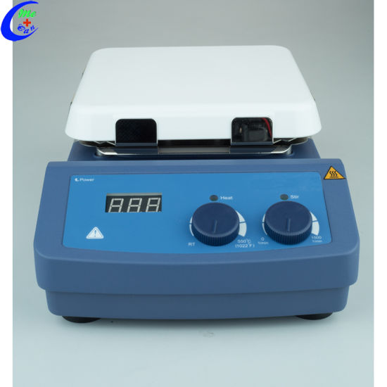Lab Electronic Magnetic Stirrer Hotplate pictures & photos