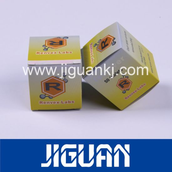 China Free design Steroids Hot Stamping Foil Hologram Vial Box