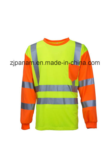 Hi-Vis Reflective Polo Shirt