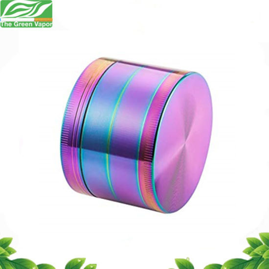 Milling Machine 4 Layers Herb Rainbow Grinder with Special Color pictures & photos