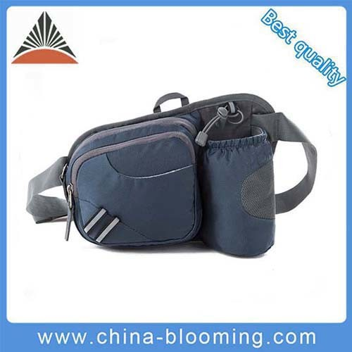 Hiking Waist Bag with Water Bottle Holder Fanny Running Belt Bag