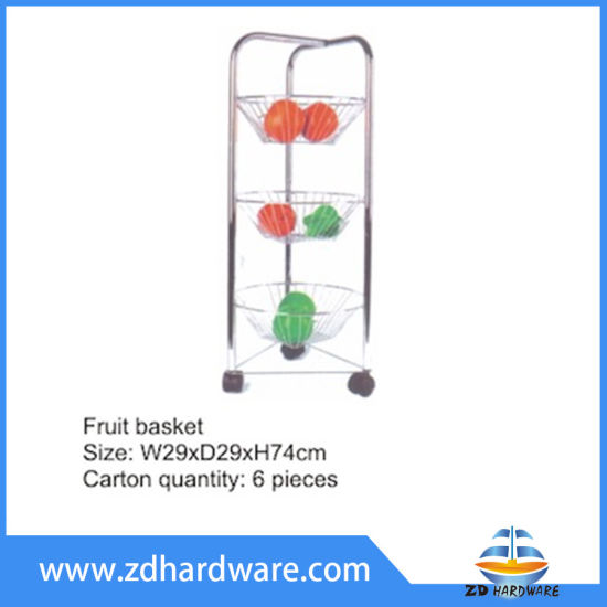 Removable Fruit Baskets Kitchen Storage Dish Drainer Vegetables Hardware Basket pictures & photos