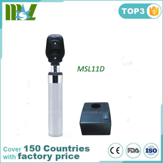 China Chargeable Direct Ophthalmicroscope For Sale Msl11d China