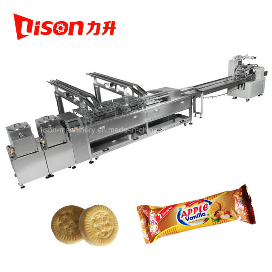 Used Soft and Hard Biscuit Making Machine Automatic with Packing Machine