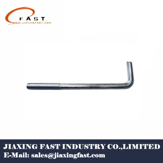 j bolt anchor concrete anchor bolt foundation bend bent bolt china