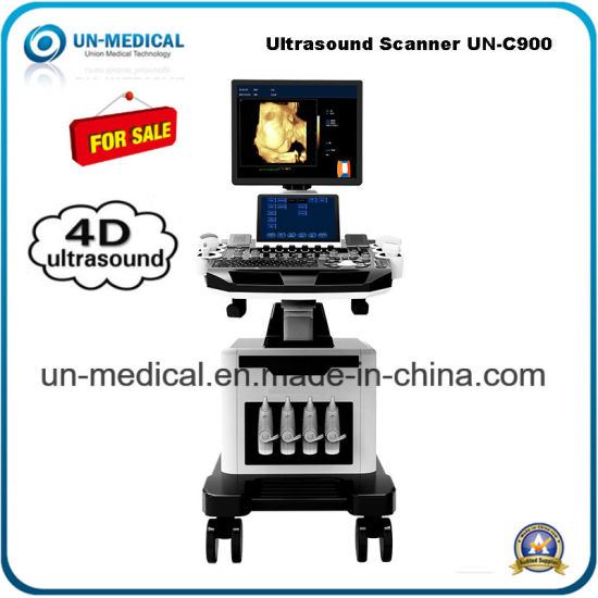 Medical Supply Trolley Full Digital Cardiac Color Ultrasound Scanner pictures & photos