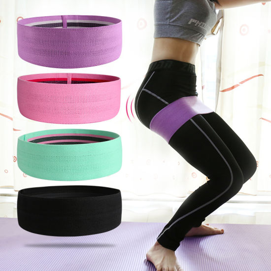 Home Gym Hip Booty Yoga Exercise Resistance Fitness Loop Band