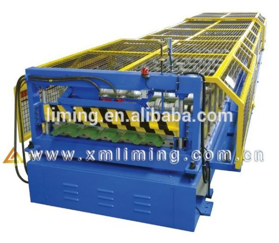 Xiamen Liming 2018 Steel Roller Forming Machines Steel Roof Rolling Machine