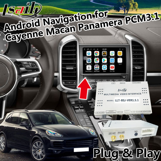 Android 6.0 Car GPS Navigation for 2010-2016 Porsche Macan Cayenne Panamera PCM 3.1 with WiFi, Mirrorlink, Youtube etc. pictures & photos
