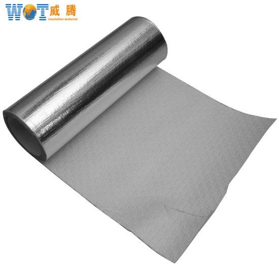 China Fire Resistant Aluminum Foil Cloth/Aluminum Foil Heat