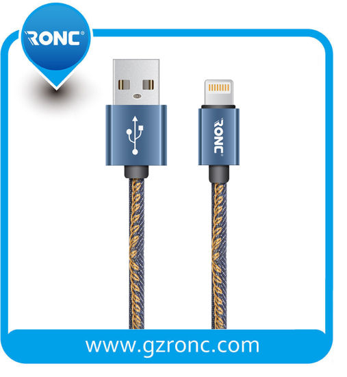 Fast Charging 2.4A USB Data Cable for Mirco-USB Mobile Phone