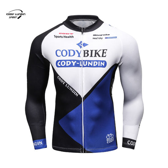 Cody Lundin Custom Short Sleeve Breathable Slim Fit Quick Dry Motorbike Bicycle Jersey Sports Wear Cycling with Back Pocket