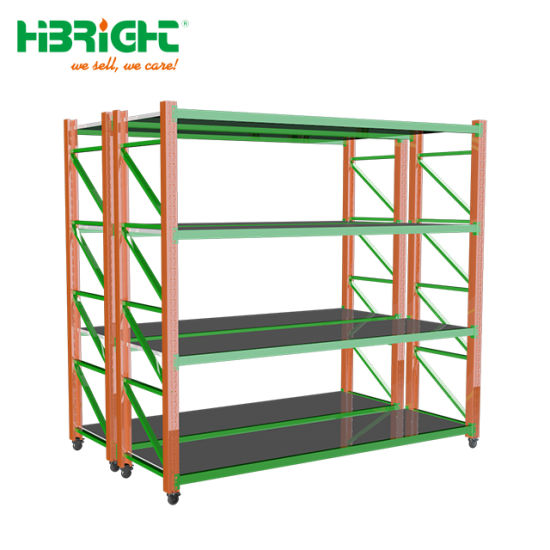 Warehouse Medium Duty System Stackable Steel Pallet Rack pictures & photos