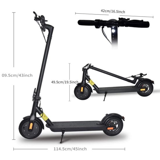 Foldable E-Vehicle Adults APP Stystem Electric Scooter