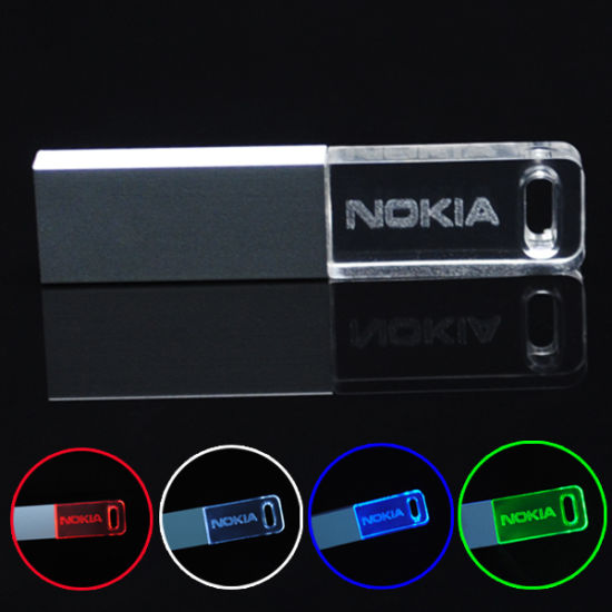 Promotional Gifts Flash Drive Acrylic Transparent USB Drive acrylic Pendrive 256MB 512MB 1GB 2 GB 4GB 8gig 16g pictures & photos