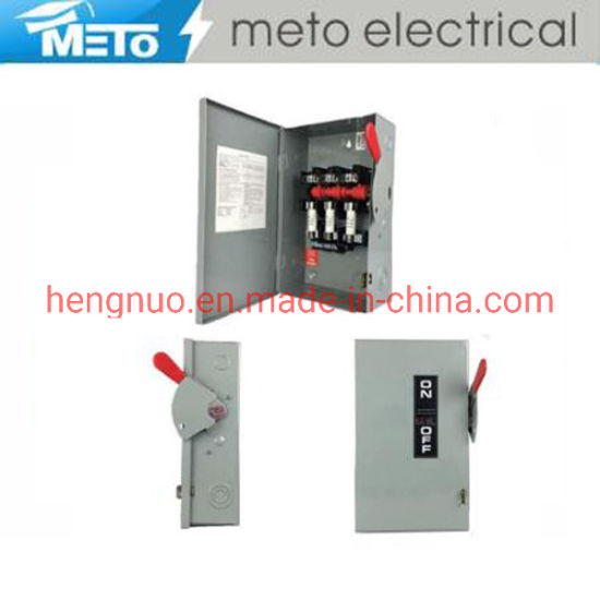 Mt-Ds 60AMP 240V Power Neutral Safety Switch