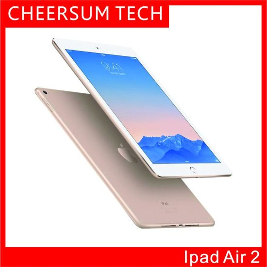 "2019 Original Refurbished Pad Air 2 WiFi+Cellular/Version 16g 64GB 128GB Pad 6 Touch ID 9.7"" Retina Display Ios A7 Refurbished Tablet"