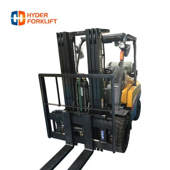 New Design Forklift Price 4.0 Ton Forklift Truck LPG Gas
