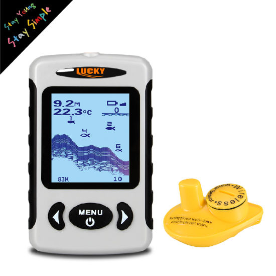 Hand-Hold Sonar Fish Finder with 4 AA Battery (FFW718) pictures & photos
