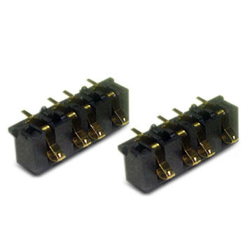Battery Connector Suitable for Cellular Phones/MP3/GPS pictures & photos