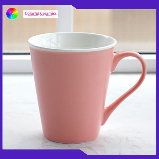 Sales Promotion Irish Coffee Mug Sets Custom Mugs V Mug Set Pink Coffee Cup pictures & photos