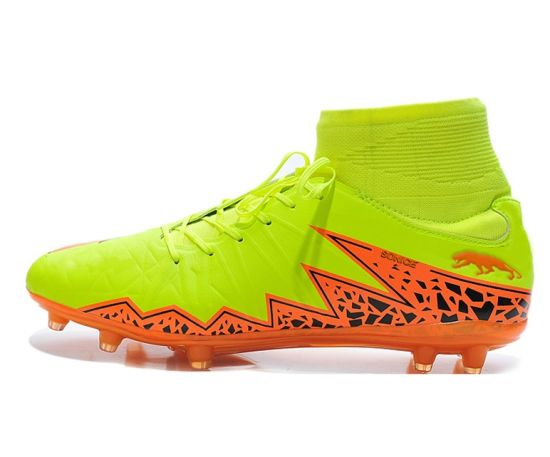 OEM High Ankle Soccer Boots, Outdoor Football Shoes, Soccer Football Boots for Wholesale