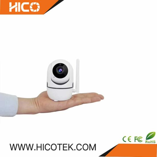 New Ai System Smart Baby Monitor WiFi Camera Ycc365 APP 720p Video Auto  Tracking Indoor Home Security IP Camera