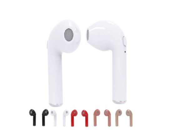 2a3d035ac62 High Quality I7s Tws Dual Airpods Wireless Bluetooth Earphones for All  Cellphones