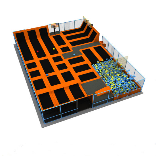 Sky Zone Type Commercial Kids and Adult Indoor Trampoline Park