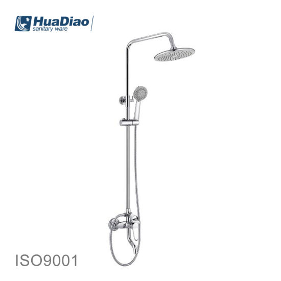 China Luxury Head Shower Faucet Sets Bathroom Accessories Wall Mounted China Sanitary Ware Tap