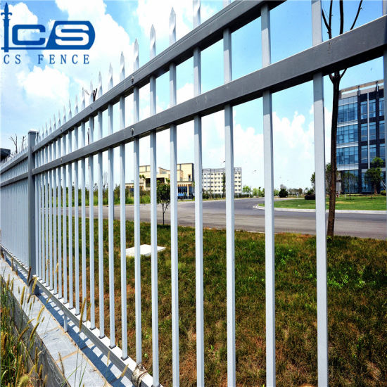 Hot Sale Wrought Iron Fence Panels for Sale / Galvanized Steel Fence