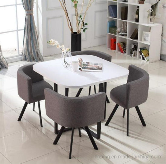 China Bedroom Chairs Contemporary Dining Table With Chairs Restaurant Metal Frame Modern Dining Table Set Kitchen Table Dining Table Set China Living Room Furniture Home Furniture