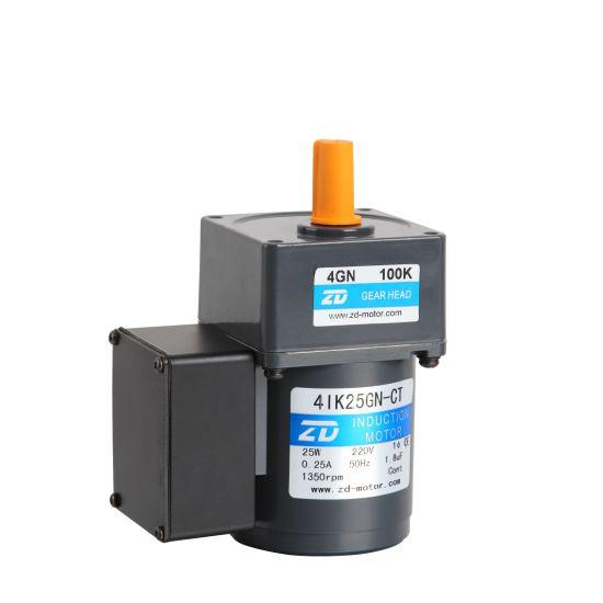 DC Motor Small Electric Gear Motor 90mm60, 90, 120W(3GN 15K)