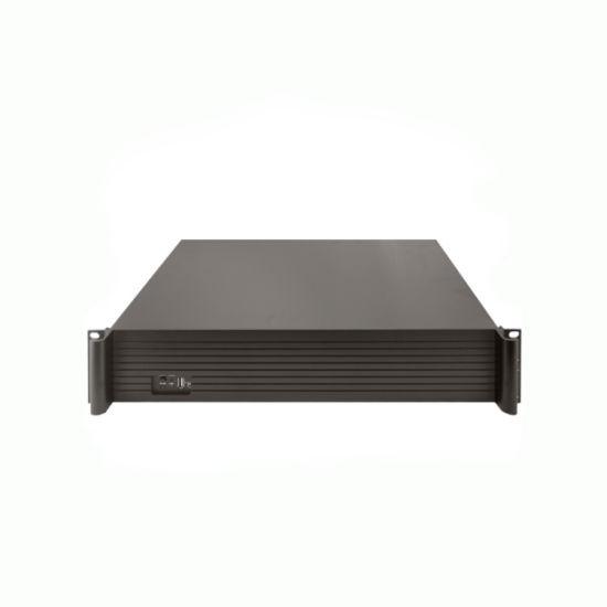 Enhenson 4K 8MP 5MP H. 265 Onvif P2p 64CH NVR with 9 SATA HDD