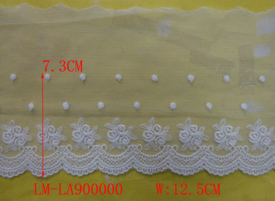 Garment Accessories DIY Handmade Trimming Europe Retail Wholesale Wrap Knit Water Dissolved Lace Soluble Lace Pattern Fabric 5cm-13cm Embroidery Lace