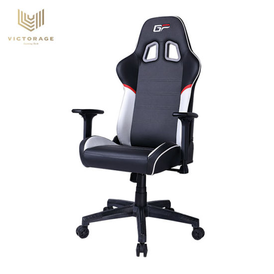 Gaming Chair Racing Office Computer Game Chair Ergonomic Backrest and Seat Height Adjustment Recliner Swivel Rocker with Headrest and Lumbar Pillow E-Sports