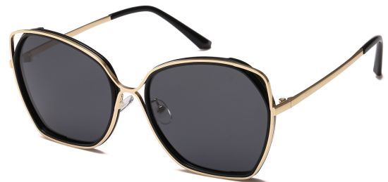 New Design Fashion Sunglasses, Women Cateye Black Shade