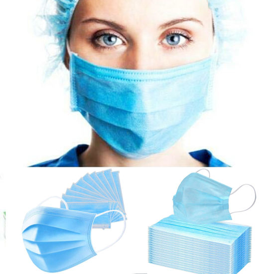 Cheap and High Quality 3 Ply Disposable Medical Surgical Face Mask