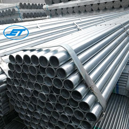 Guangzhou Supplier 48mm 5m Scaffolding Galvanized Steel Pipe in Stock