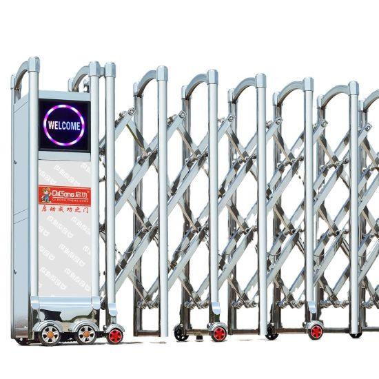 Gate Automatic Expandable Folding Gate Retractable Gate Qg-G460
