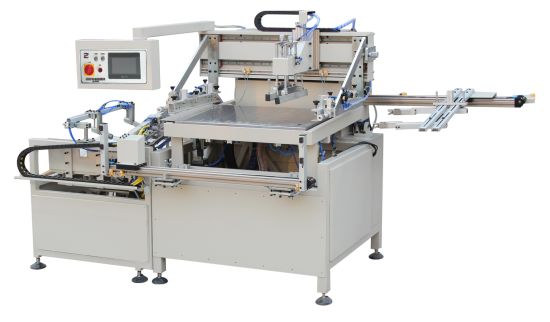 Heat Transfer Paper Automatic Screen Printing Machinery Hy-H56 Label Packing Printer Silk Screen Printing Machine Packing Label Silk Printer Machine