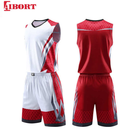 Aibort 2020 Newest Colorful Basketball Shirt Custom Basketball Jersey (J-BSK016 (4))