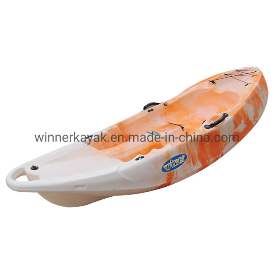 Recreational Single Plastic Wheel Kayak
