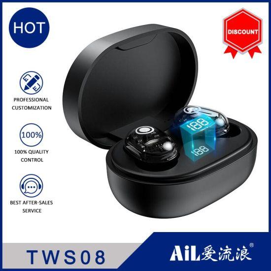 Black Technology True Sports Dual Ear Type Earphones Wireless