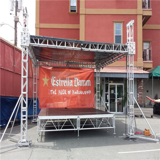 diy portable stage small stage lighting truss. Diy Portable Stage Small Lighting Truss. Assemble Display Fashion Show Outdoor Spigot Concert Exhibition Truss