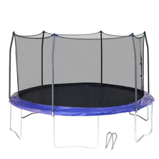 Wholesale Price Birthday Gift 10FT Jumping Trampoline Outdoor Entertainment