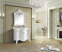 Hot Selling Solid Wood Bathroom Cabinet (CAG30051)