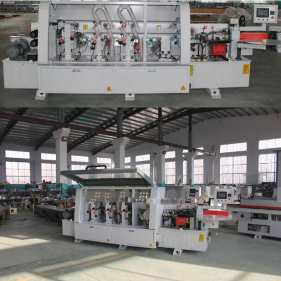 Automatic / Semi Automatic / Manual Operation Wood Edge Bonding Machine with Ce for Kitchen Cabinet Wardrobe with PVC Film pictures & photos