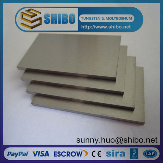 Good Wear-Resistance Tungsten Sheet/Plate pictures & photos